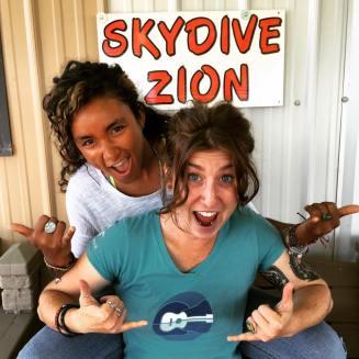 Skydive travel adventure Zion shamelesslyshannon.org